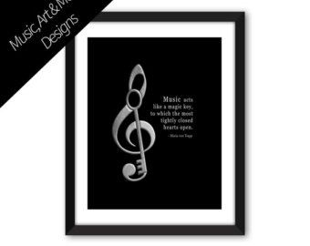 MARIA von TRAPP Music Quote Music Piano Band School Teacher