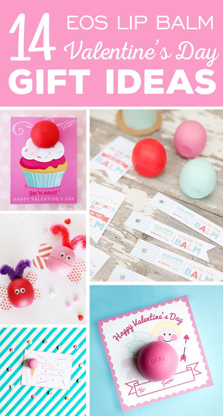Balm christmas gift turn old eos containers into cool crafts ideas - 14 Fun Eos Lip Balm Valentine S Day Gift Ideas