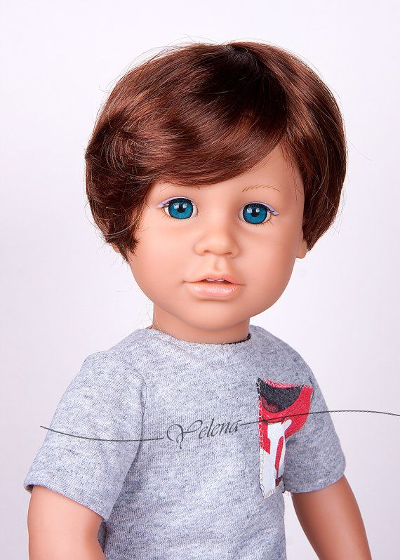 Blue or brown eyes Lotus 18   boy doll with custom outfit and red or. 159 best AG  Hair  Wigs images on Pinterest   Wigs  American girl