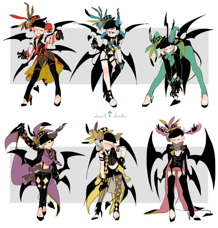 Demon au? They be pretty bois!