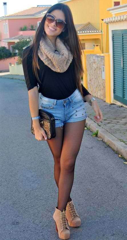 Perfect fall outfit but not those boots... Cowgirl boots