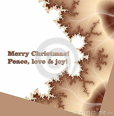 Merry Christmas wishes on pink gradient background with golden leaves.