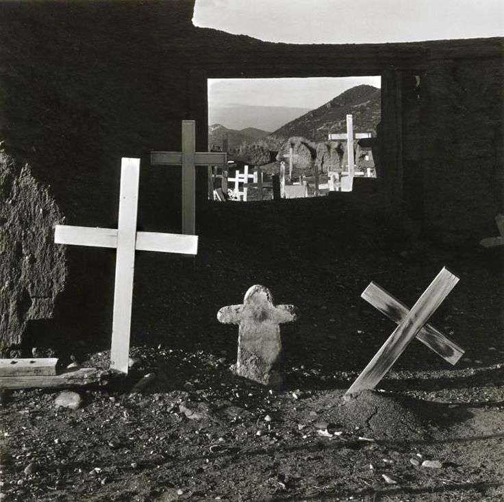 Bert Beaver - Indian Graveyard, Taos, NM