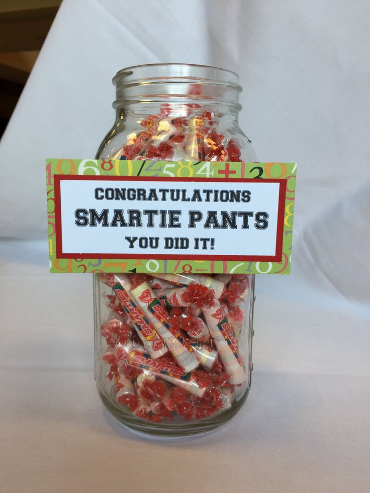 Add some fun to your graduation table by using these candy signs to display your candy. This is listing is for one of each sign: Class Rings (size: 4 3/4 X 1 3/4)  Congratuations Smartie Pants You Did It! (size: 5 3/4 X 2 3/4)  Nerds (size: 2 3/4 X 1 3/4)   Everyone will love the cleverness of these signs and enjoy the candy too!  If you would like to continue shopping for more baby shower decorations, flag banners for every occasion, or party décor you may retur...