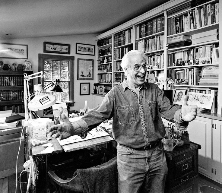 Al Williamson in his studio.