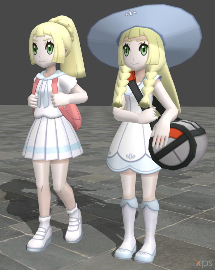 Pokemon Sun/Moon | LILLIE'S NEW FORM IS SO CUTE