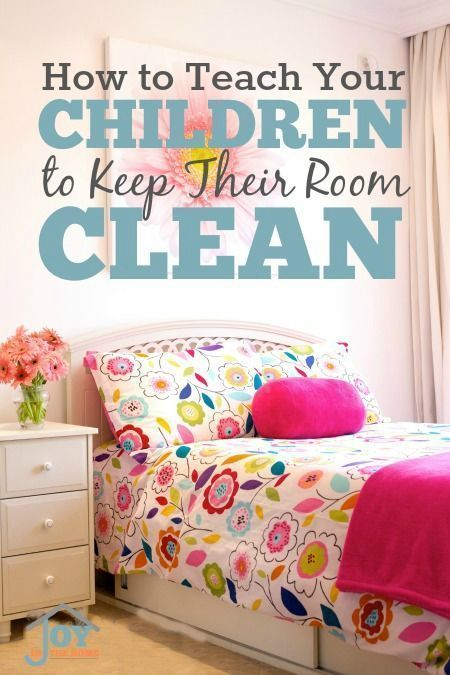 How To Teach Your Children to Keep Their Room Clean - These 5 things can make this difficult task really easy.