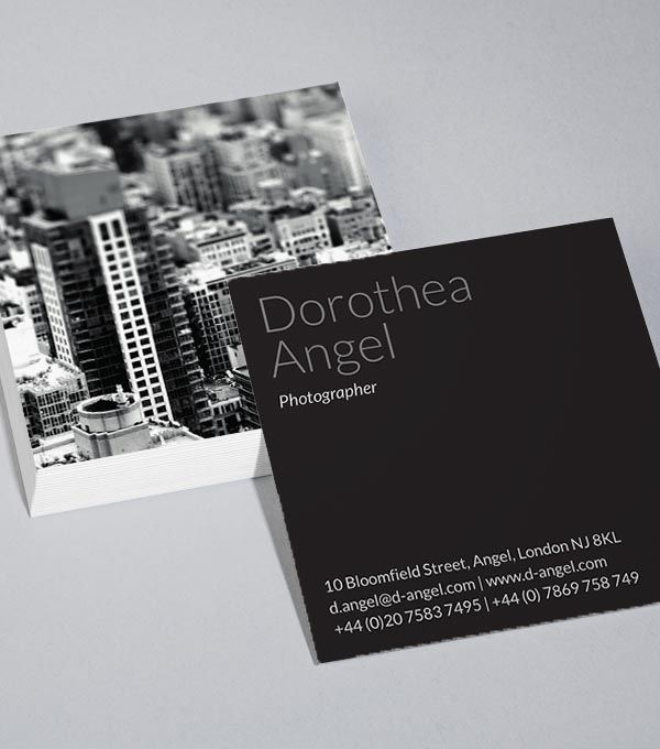 73 best business cards images on pinterest business cards carte browse square business card design templates reheart Choice Image