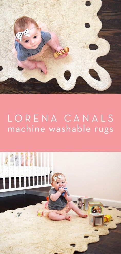 Lorena Canals Machine Washable Rugs | Thrifty Littles Blog