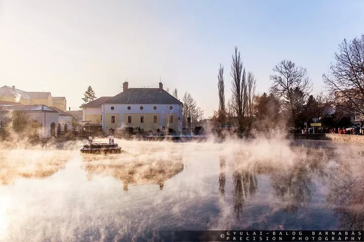 -16°C Tapolcán  #Tapolca #Malom-tó #lake #winter