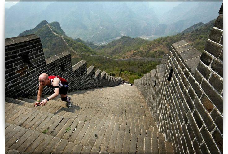 Great Wall of China Marathon  Huangyaguan Sect of the Great Wall in Tianjin