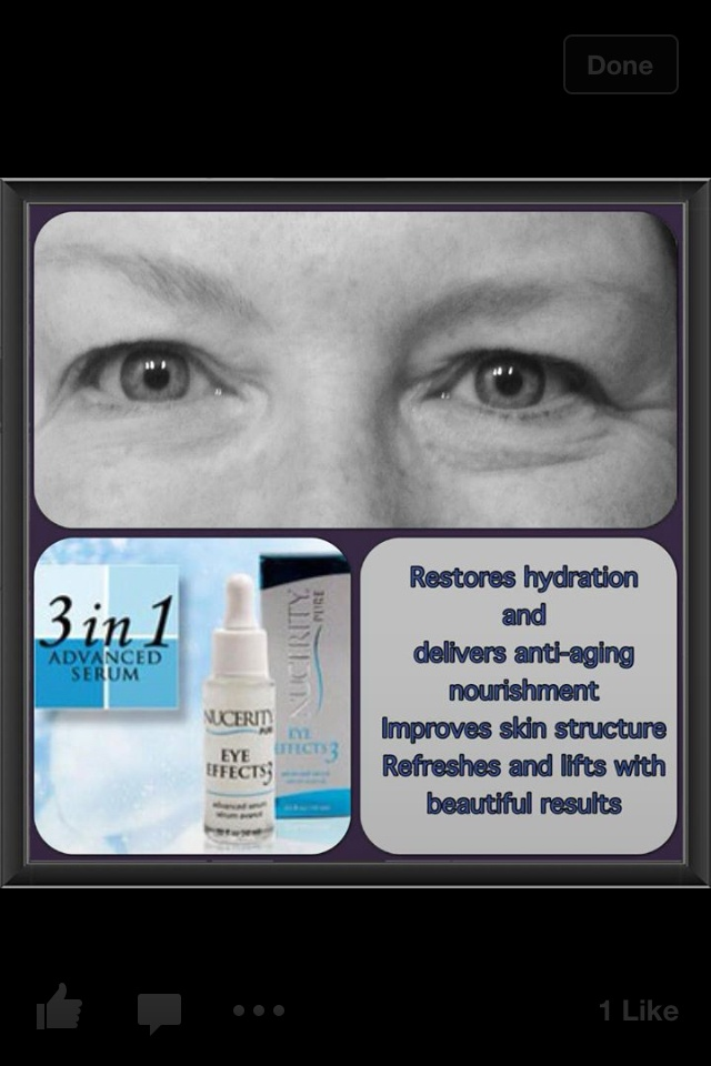 Eye Effects 3!! Check out the difference between her eyes!! Love this stuff!