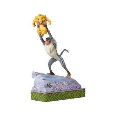PRE-ORDER: 'Heir to the Throne' - Rafiki and Baby Simba figurine (Jim Shore) from Fantasies Come True