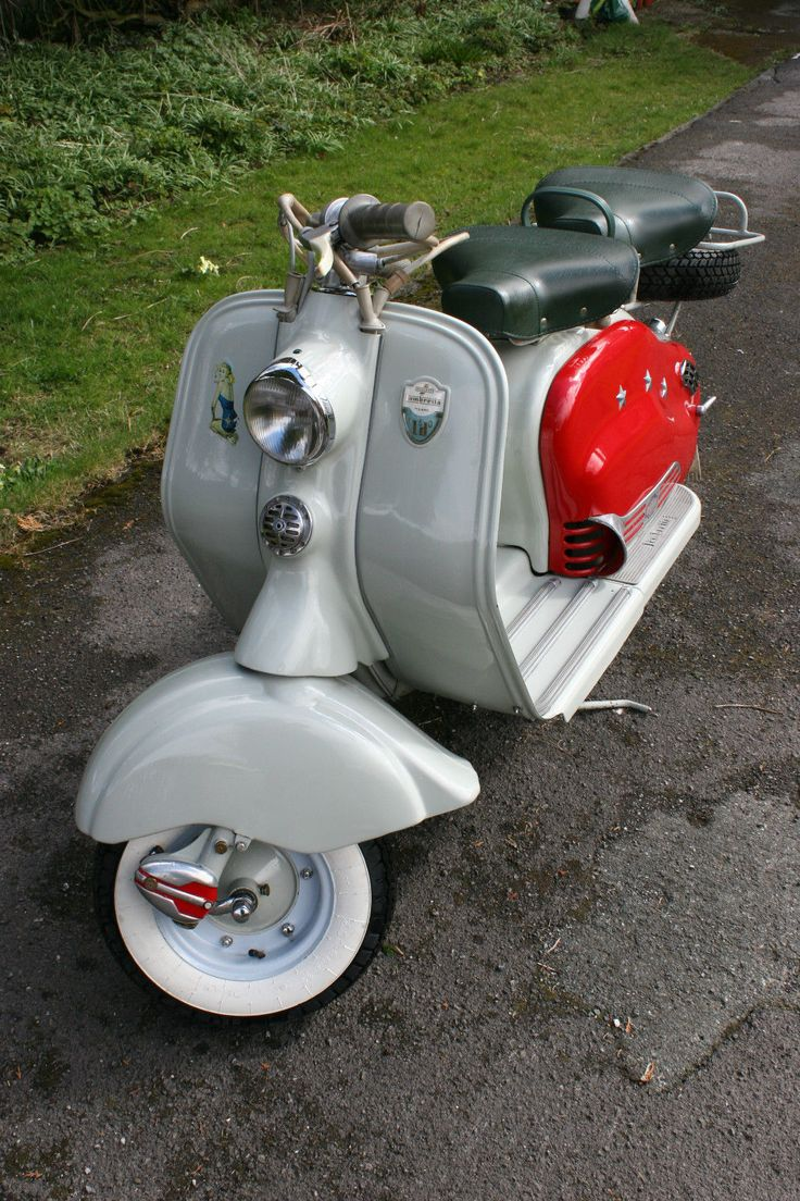 Loving this. Cracking little LD on eBay that was restored back in the 80's… that has mellowed nicely. Sometimes a newly restored scooter can look fantastic, but to my eyes a little too &#8220…