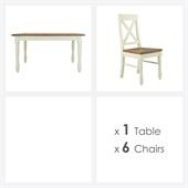 Portland Table And 6 Chairs