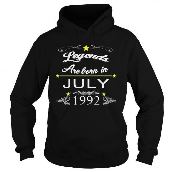 Cool July 1992 THE BIRTH OF LEGENDS ,July 1992 BORN BIRTHDAY SHIRTS,July 1992  TSHIRT MEN AND FAMILY, i love wife, love legends July 1992, July 1992 love, July 1992-tshirts T shirts