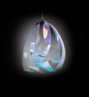#Slamp #Goccia - Suspension Lamp #Blå