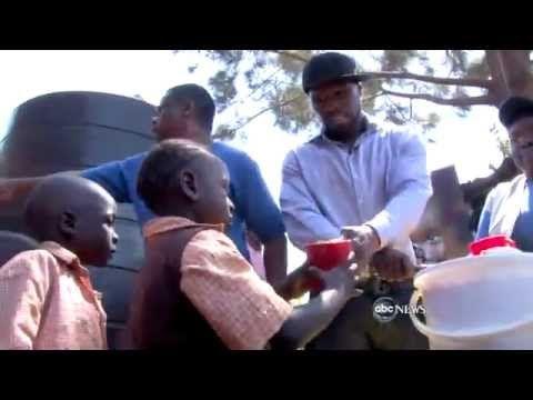 50 Cent On ABC Nightline (Visits Somalia and Kenya- Kibra With UN)