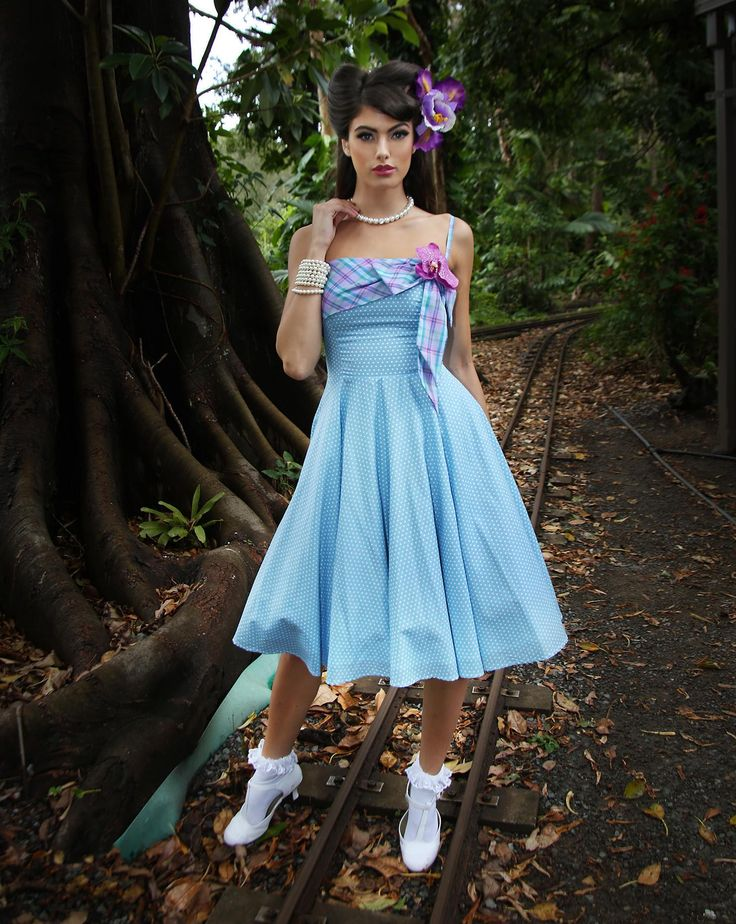 Yasmin Spot Dress