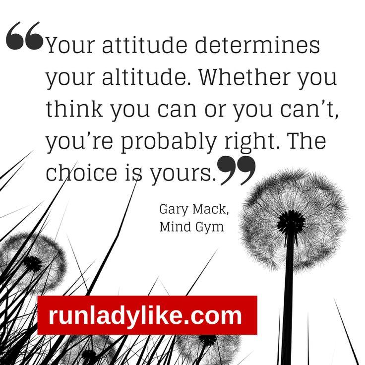 Attitude determines altitude: Mind Gym review on runladylike.com