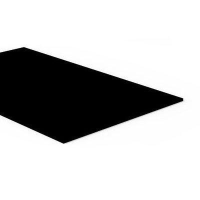 Acrylic Glossy Black A3 Cast Sheet 420 x 300 x 4.5mm Thick Black Perspex Acrylic Sheet. $9.99