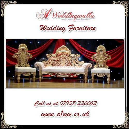 """There is no charm equal to tenderness of heart."" A1 Weddingwalla presents decorative royal wedding furniture for #wedding #engagement #reception and much more. For booking call us at 07958 330043 or visit http://www.a1ww.co.uk."