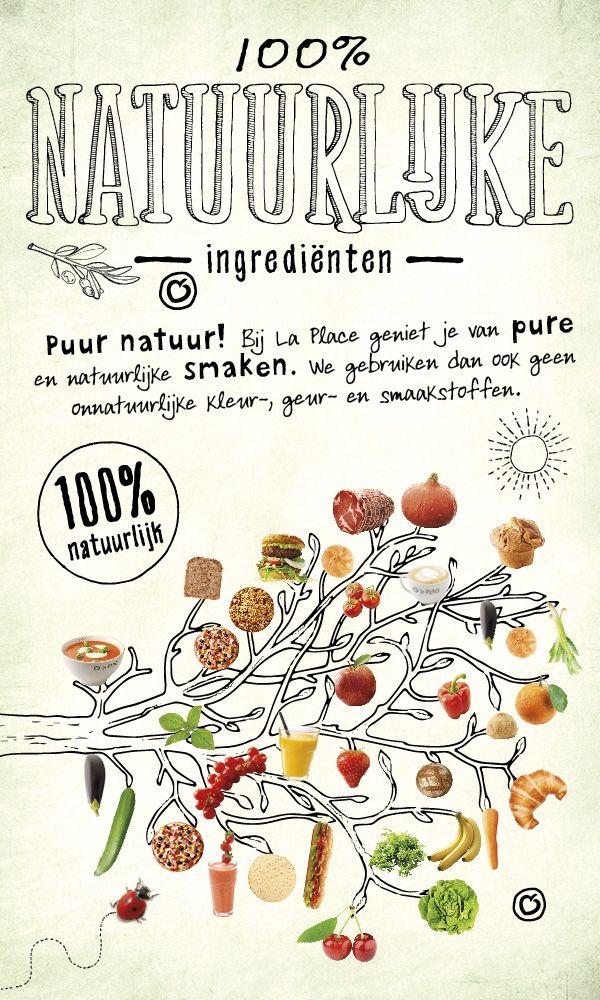 100% natuurlijke ingrediënten. Puur natuur!