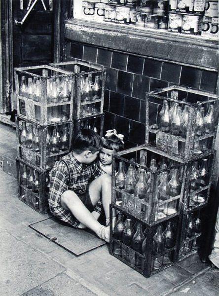 Grace Robertson . Secrets, Battersea, London, 1954
