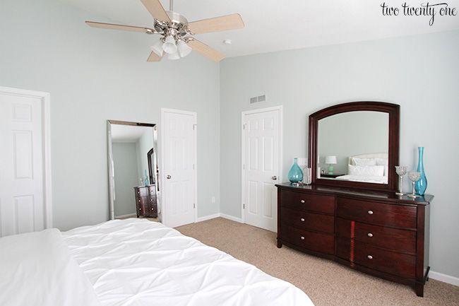 Best Sherwin Williams Sea Salt Master Bedroom Wall Color 640 x 480