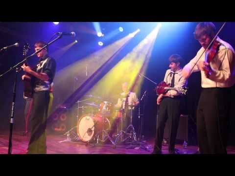 """Bluegrass band Seven Handle Circus covers """"One More Time"""" by Daft Punk live at Terminal West in Atlanta, Georgia."""