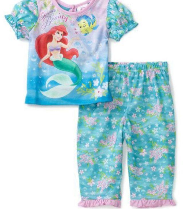 Cute little mermaid pajamas