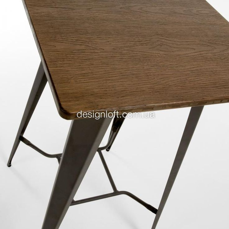 Стол MALIBU (Коричневый, 60x60 см) | интернет-магазин DesignLoft | Киев, Харьков