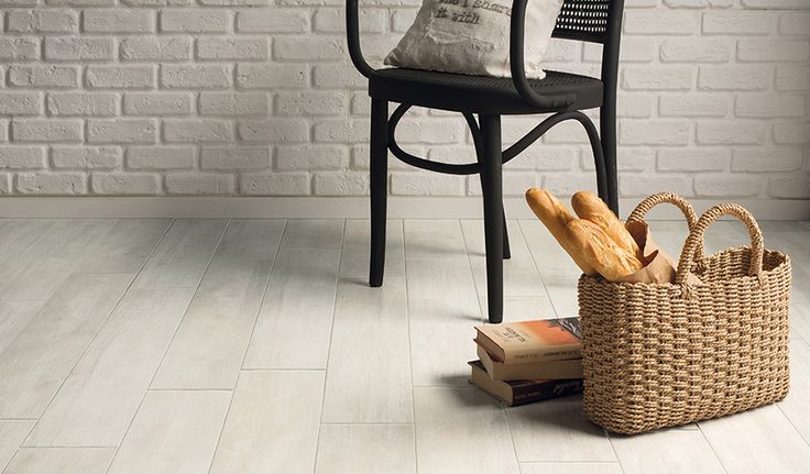 Passion 'Antique' wood-effect Porcelain floor and wall tiles. Natural finish. Available in 15x90cm planks. #innovative #interiordesign #woodeffect #grey #antique #porcelain #tiles