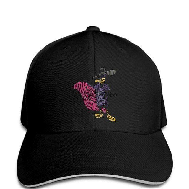 Funny Men Baseball cap Women novelty cap Darkwing Duck Typography cool cap – Disney
