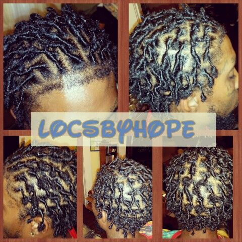 Beginner Locs Loc Styles For Men By Locsbyhope