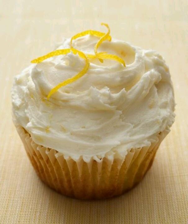 Lemon cupcakes | Delicious looking food... | Pinterest