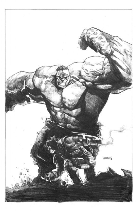 Hulk - Humberto Ramos, for your appreciation.