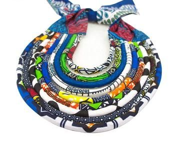 African Ankara Women Layered Necklaces Accessories. https://chicafricanna.com/products/african-accessories-for-women-bohemia-style-women-necklaces-pendants-rope-chain-statement-necklace-pendant-for-gift-brw-wys01