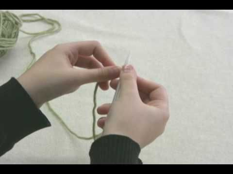 cast on knitting instructions for beginners