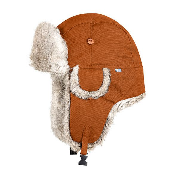The perfect hat for very cold conditions lined with arctic fur.