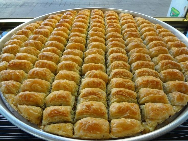 Istanbul on Food - Culinary Tours .Baklava: