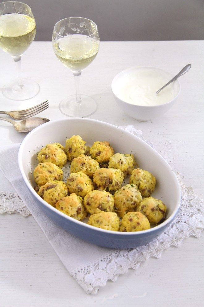 Polenta and Cheese Balls