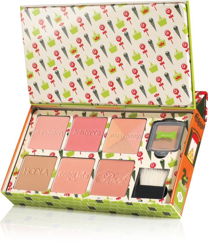 Benefit Cosmetics famous Box o' Powders are all together in oneCheeky Sweet Spot collection..