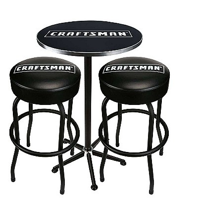 Luxury Craftsman Stool On Wheels