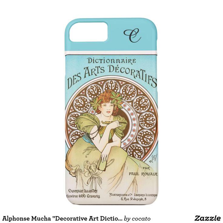"Alphonse Mucha ""Decorative Art Dictionary"" (1902) iPhone 7ケース"