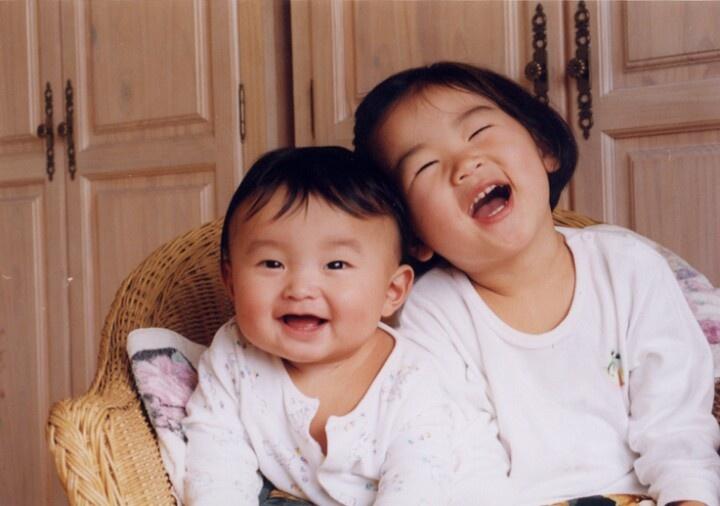 My children in 2000