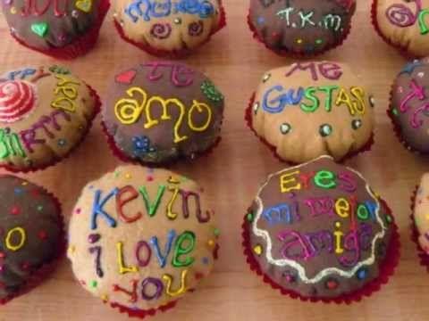 Panquecitos de fieltro!! Felt cupcakes!!