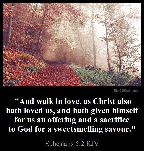 Ephesians 5 2 Kjv Prayer Scriptures Scripture Verses Beautiful Verses