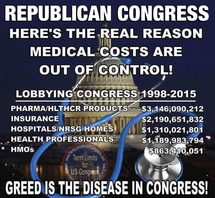 This republican congress has been sold to the highest bidder.