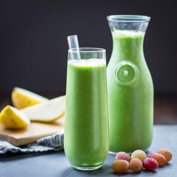Fall Greens Smoothie by bojonogourmet: Healthy holiday break. #Smoothie #Green #Healthy
